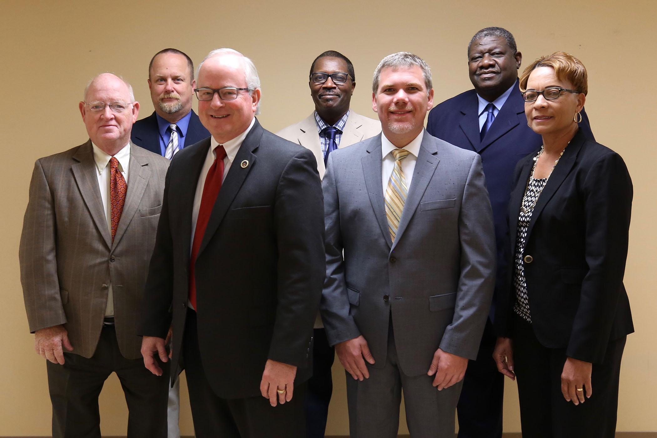 Quitman School District School Board at their September 2017 meeting.