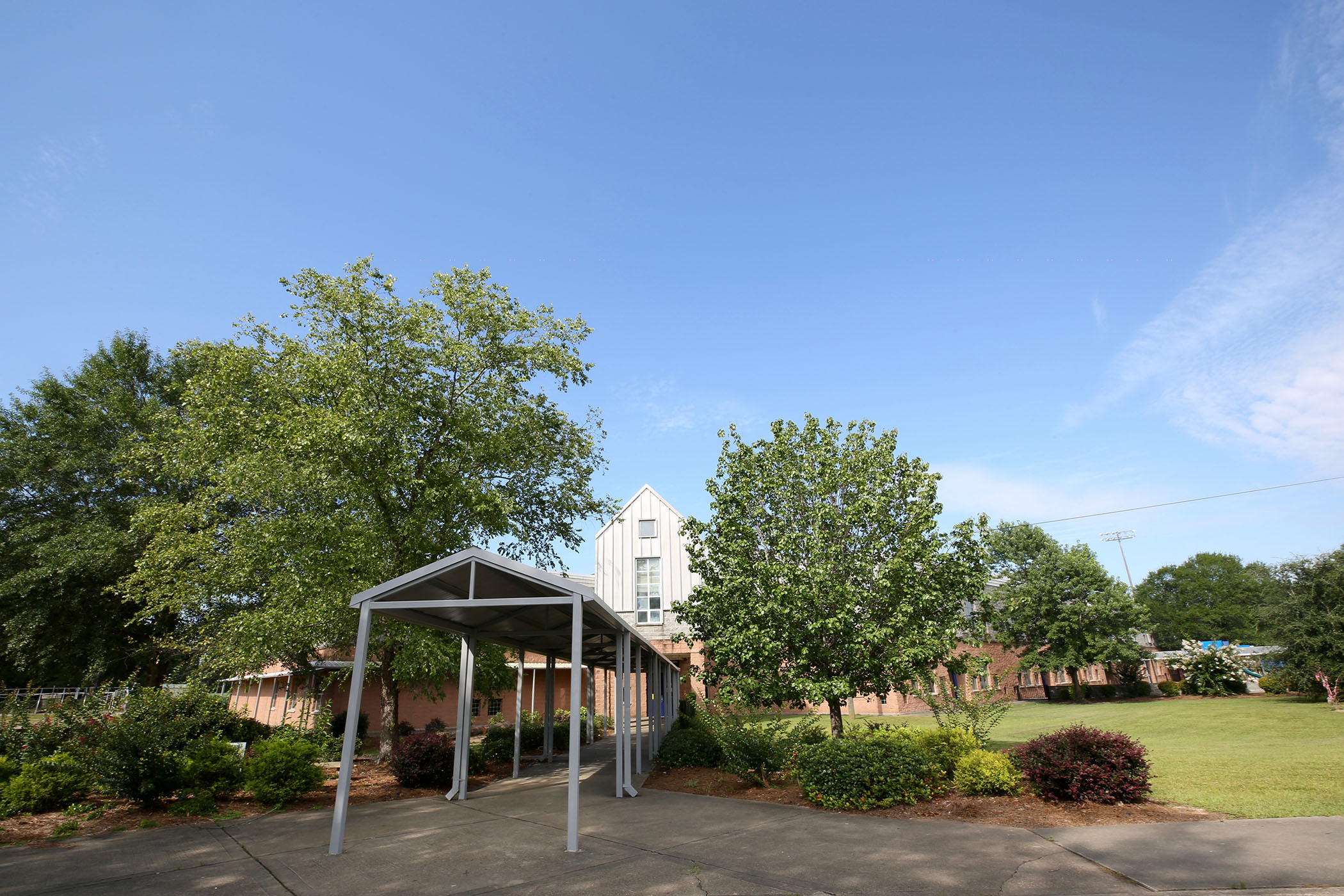 Quitman Lower Elementary landscape