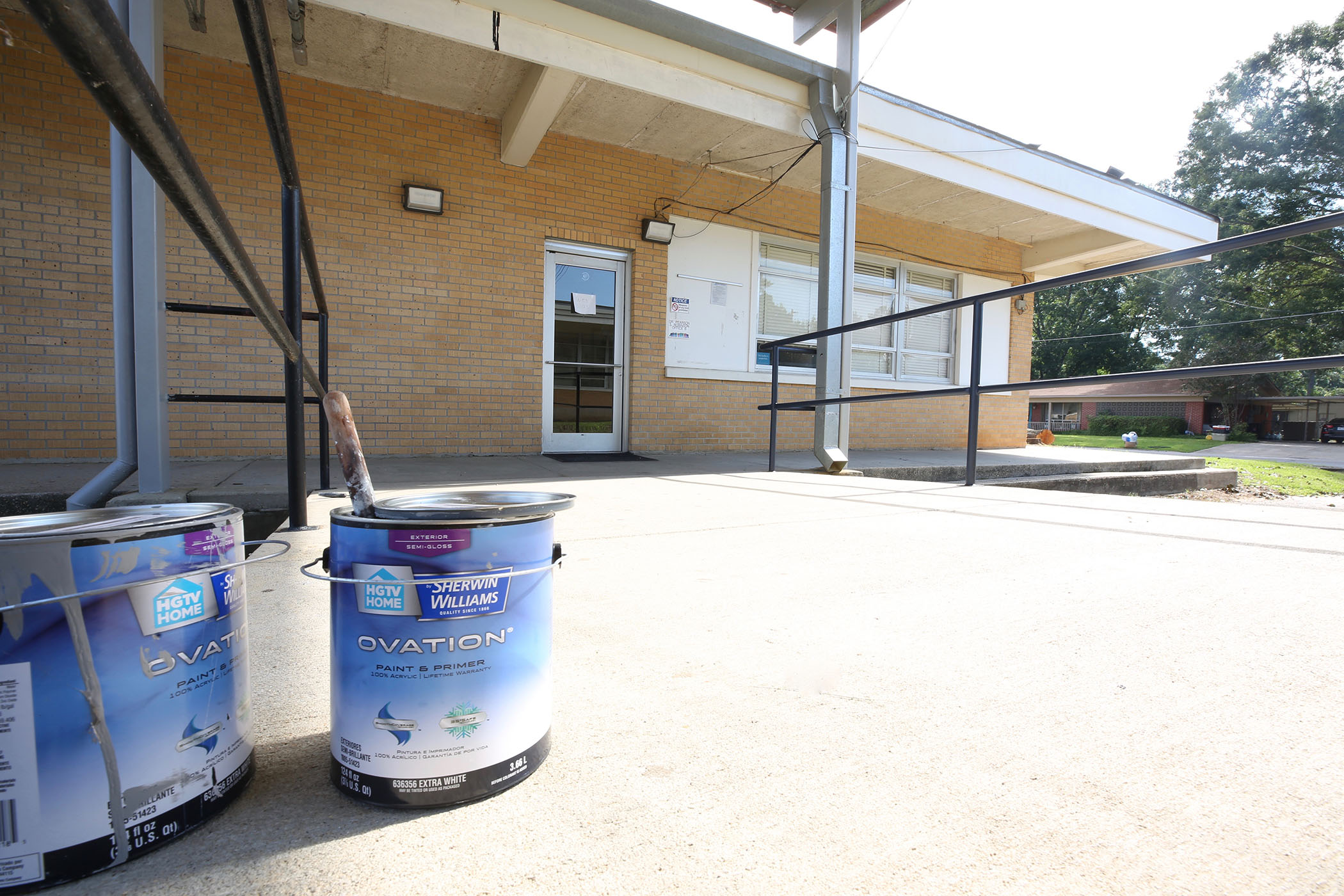 Quitman High School getting a new coating of paint