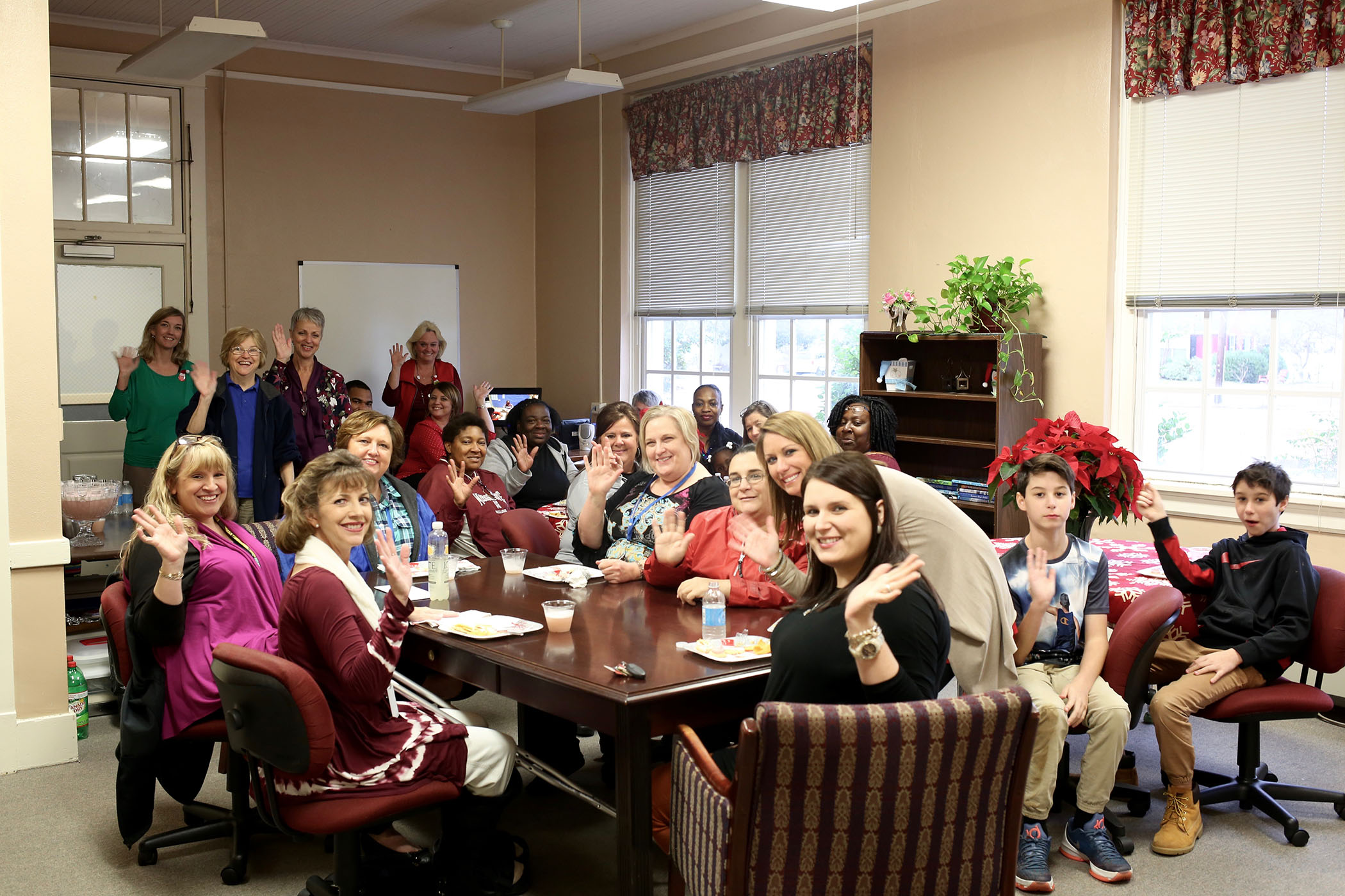 2016 SPED employee Christmas Party