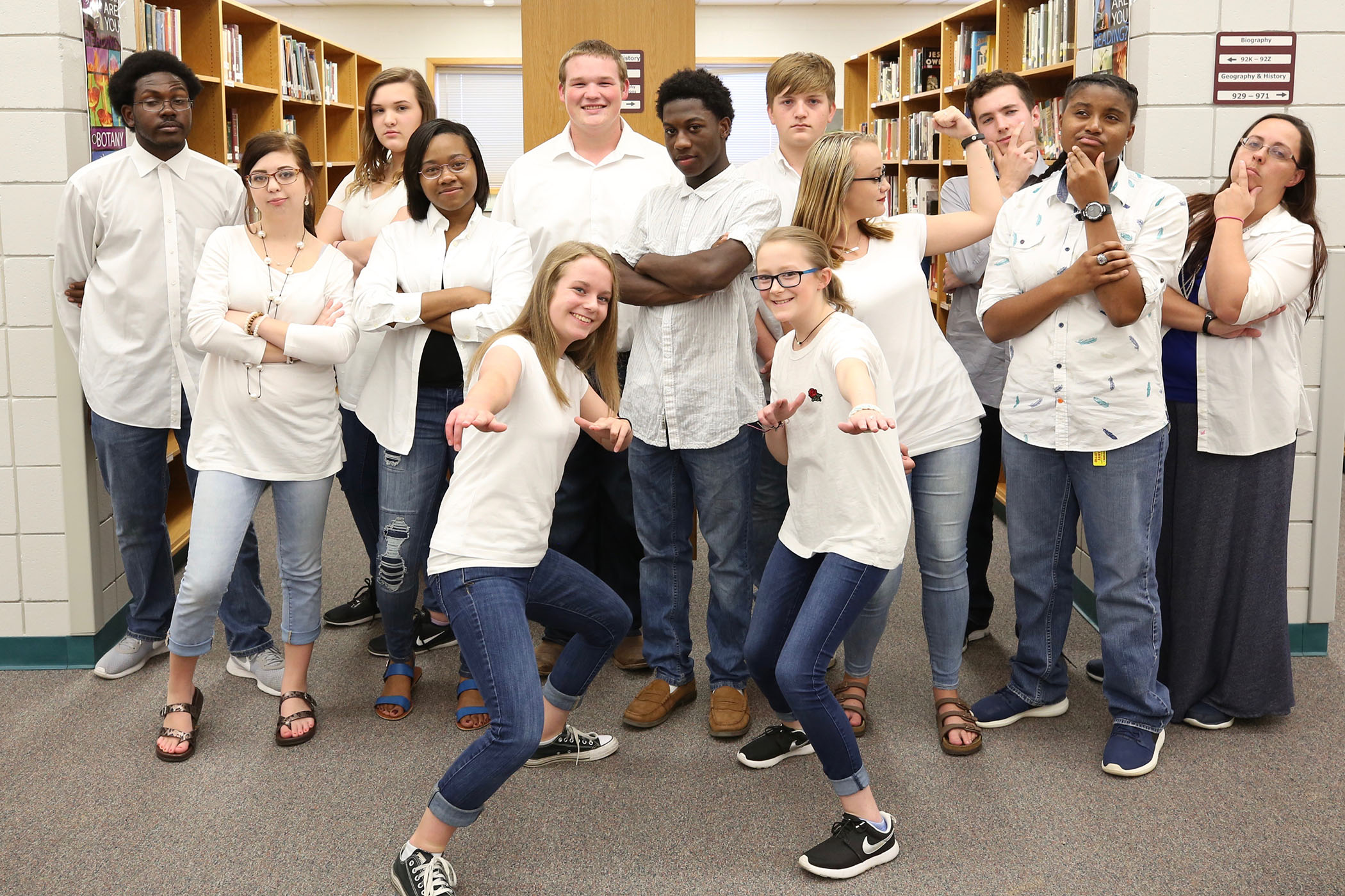 The 2017 - 2018 Panther Quiz Bowl Team