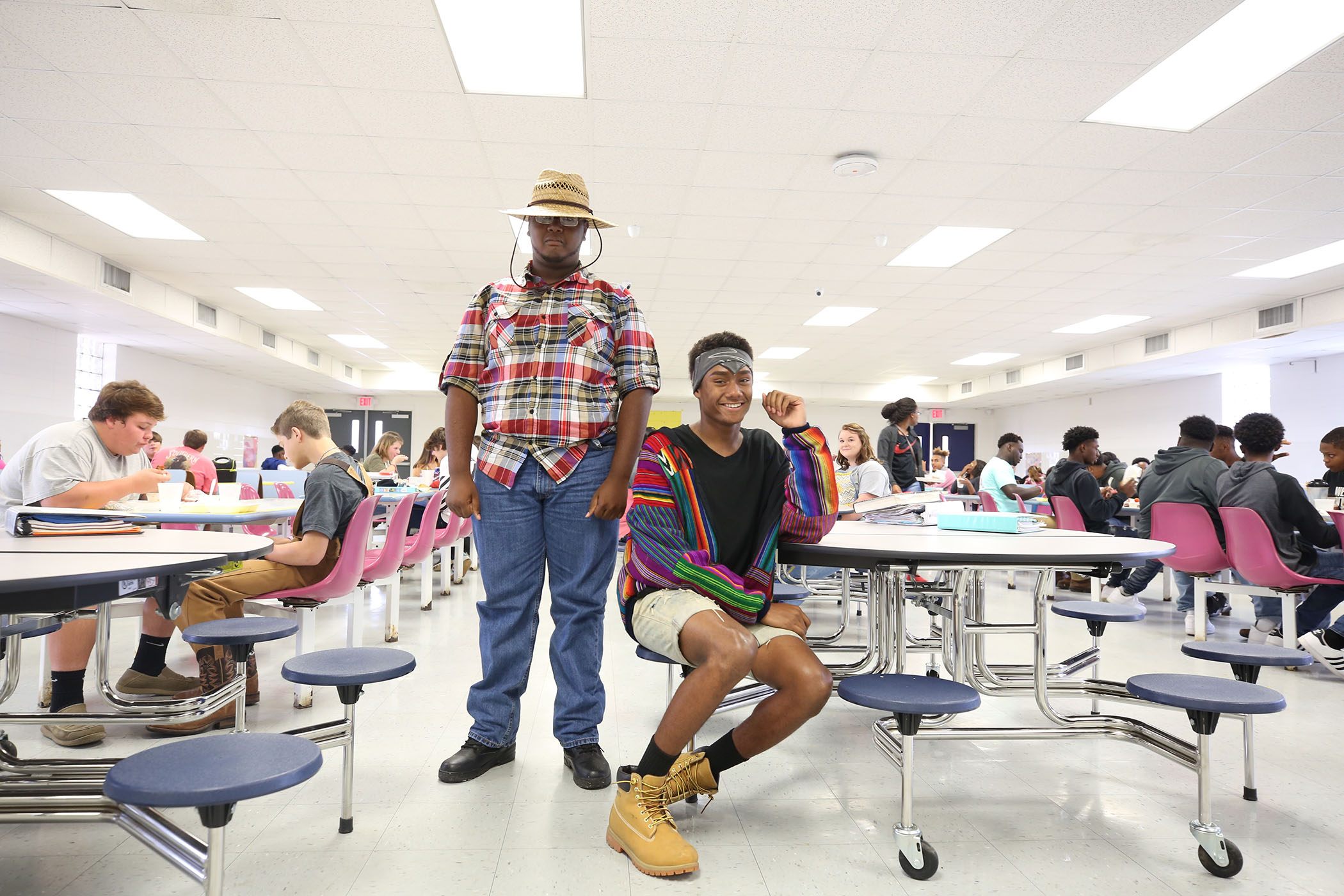 QHS students dress up for Panther Homecoming.