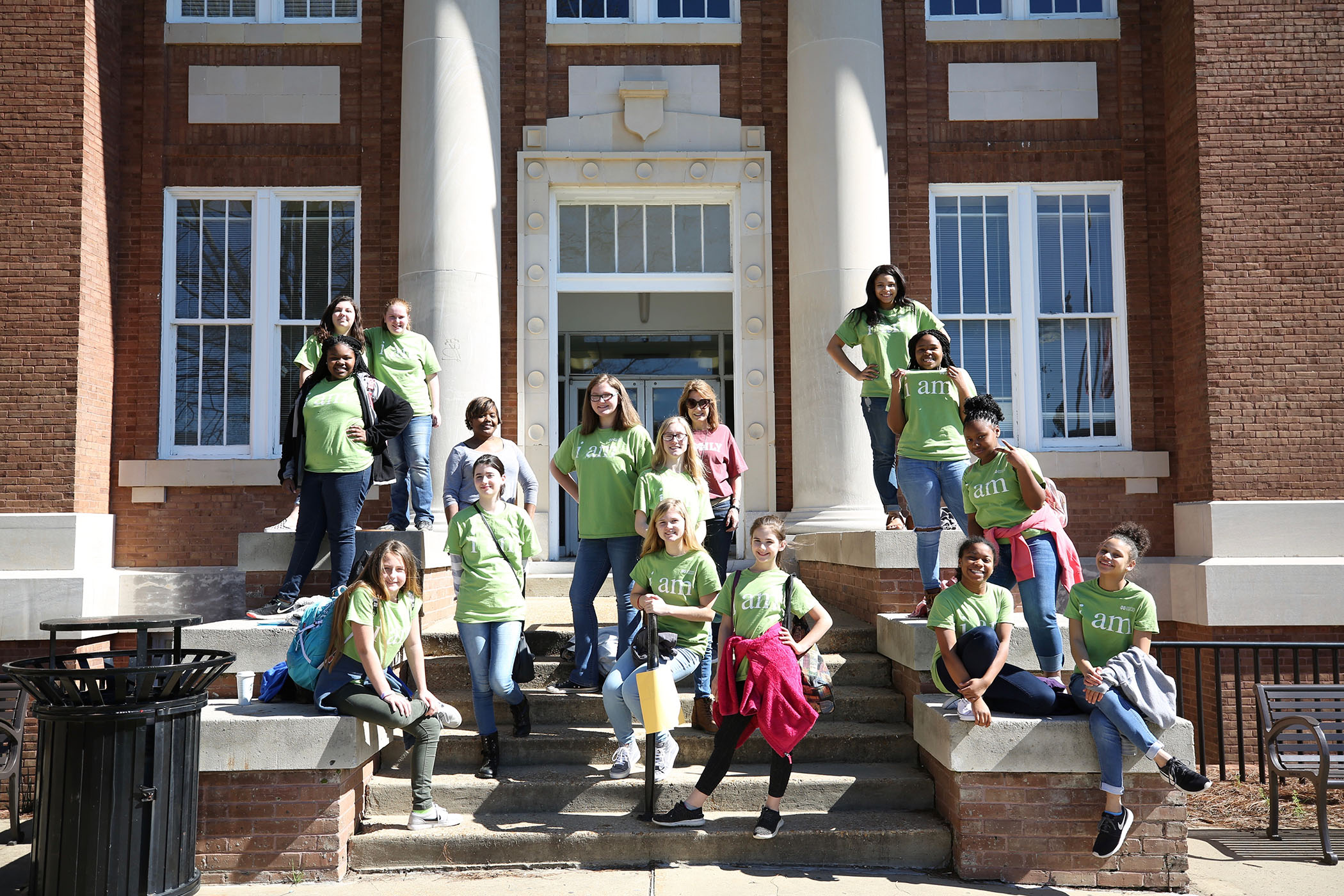 QJH students participated in the I am Girl program at MSU.