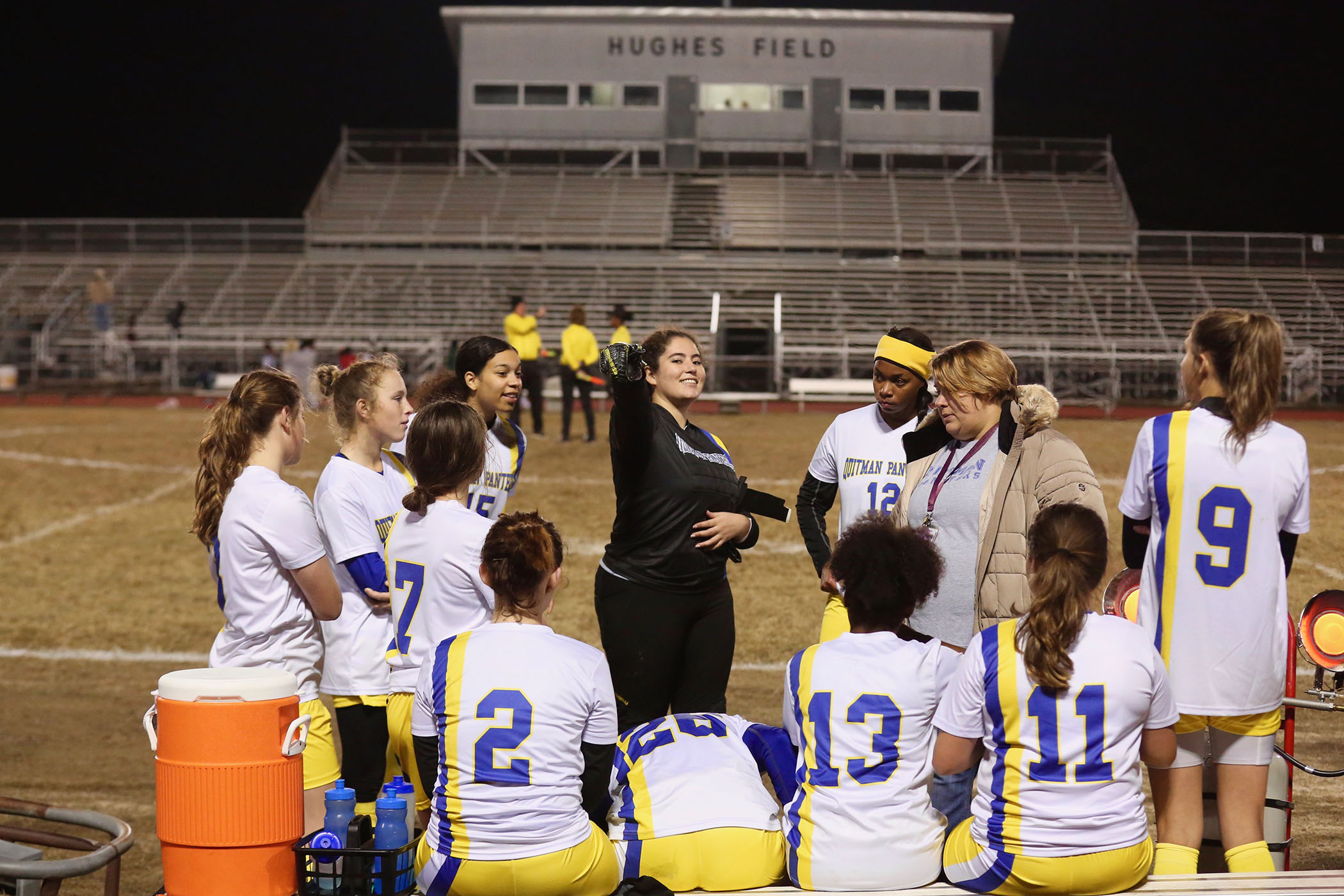 Lady Panther Soccer plays in Jackson.