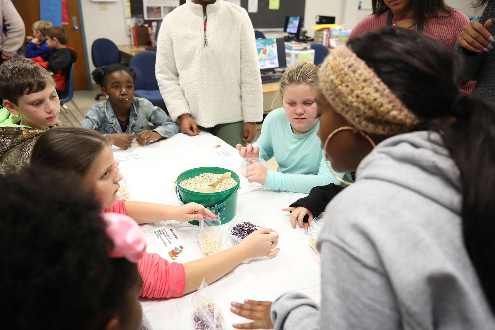 QUE kids visit ECE at CTC.