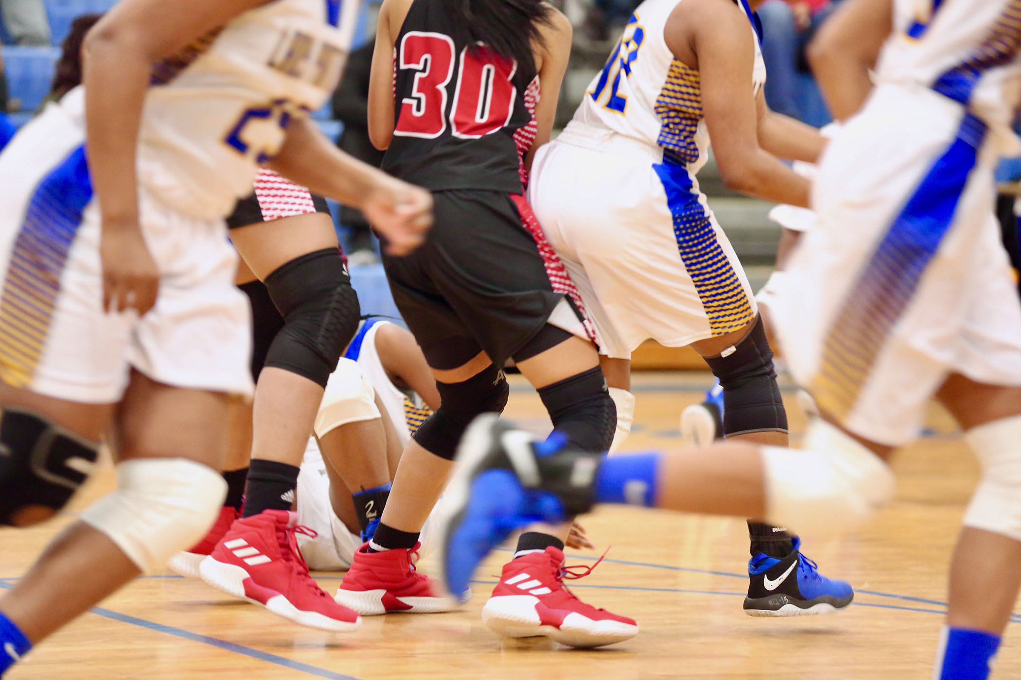 Lady Panther Basketball played on Friday night.