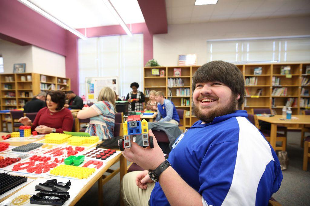 QSD Teacher attend STEM professional development.
