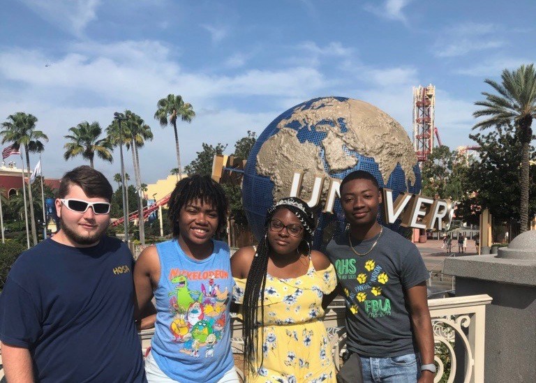 HOSA students enjoy the international conference at Disney World in Orlando, FL.