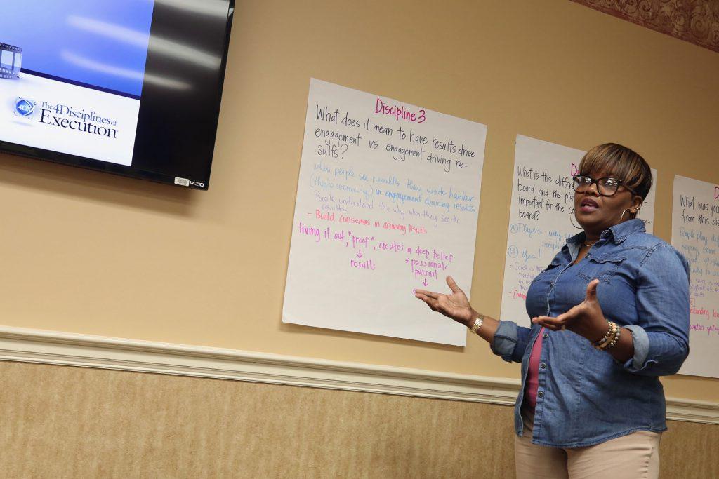 QUE Assistant Principal Debbie Chapman explains.