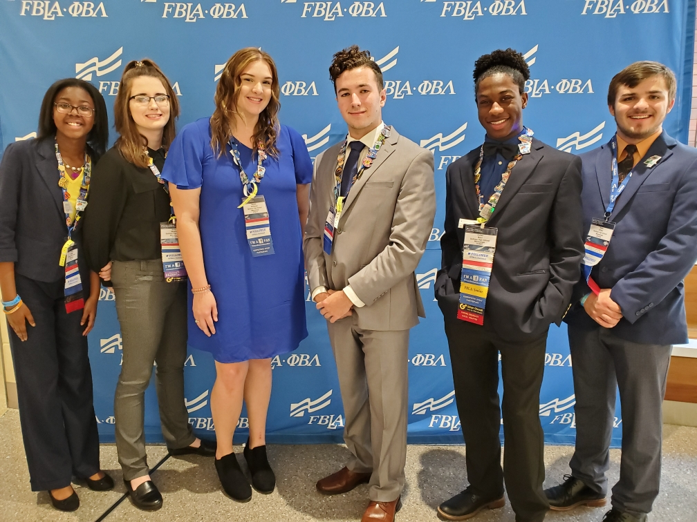 QHS FBLA students participate in the national FBLA conference.