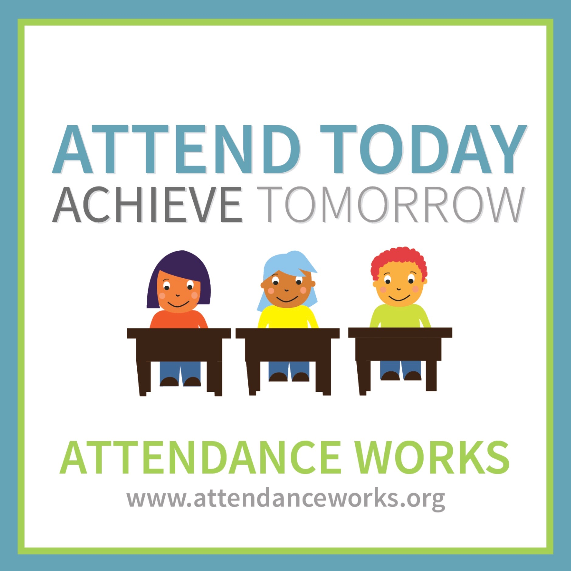 An image promoting school attendance.