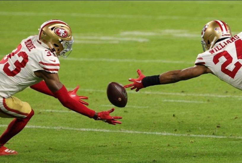 QHS Alumnus Tarvarius Moore played in the Super Bowl.