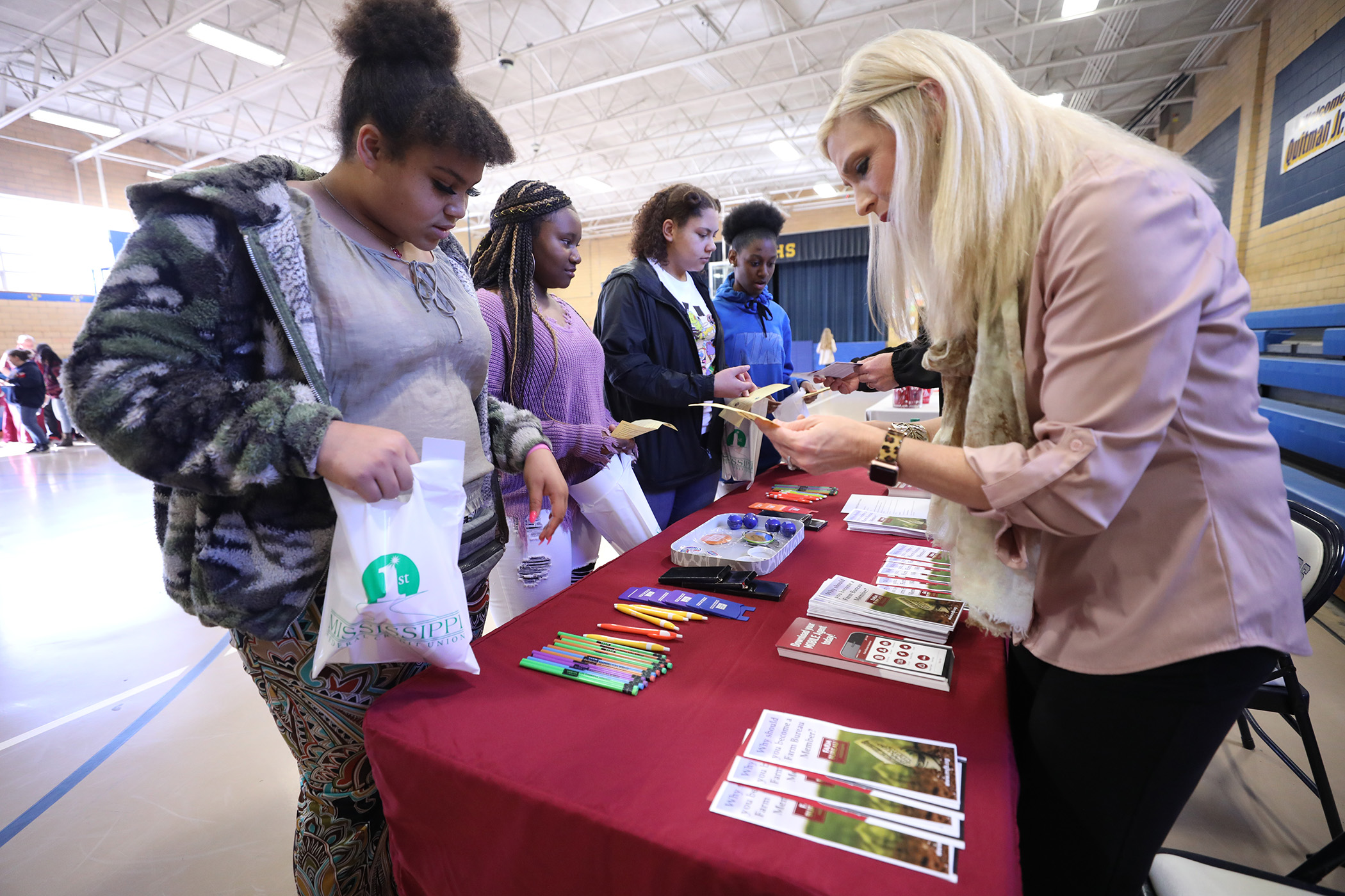 QJH has a college and career fair.