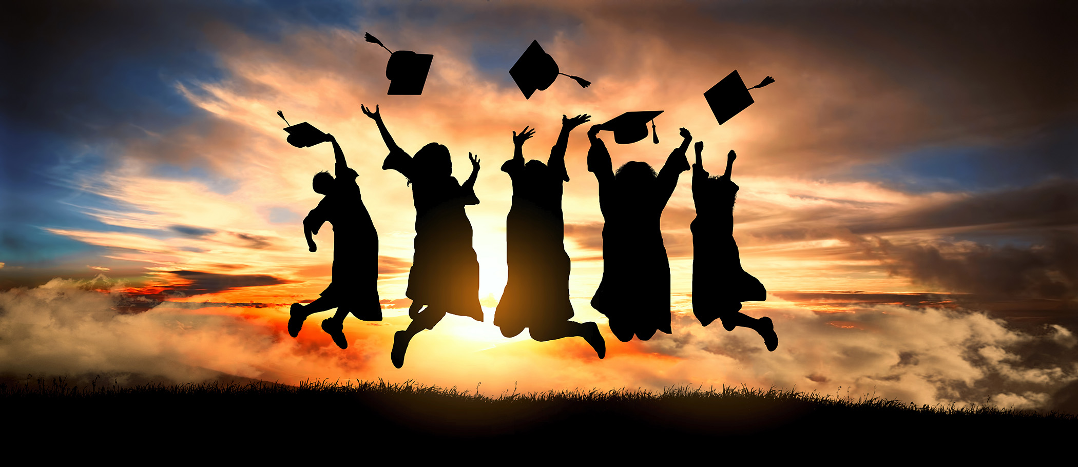 This is an image of graduates.