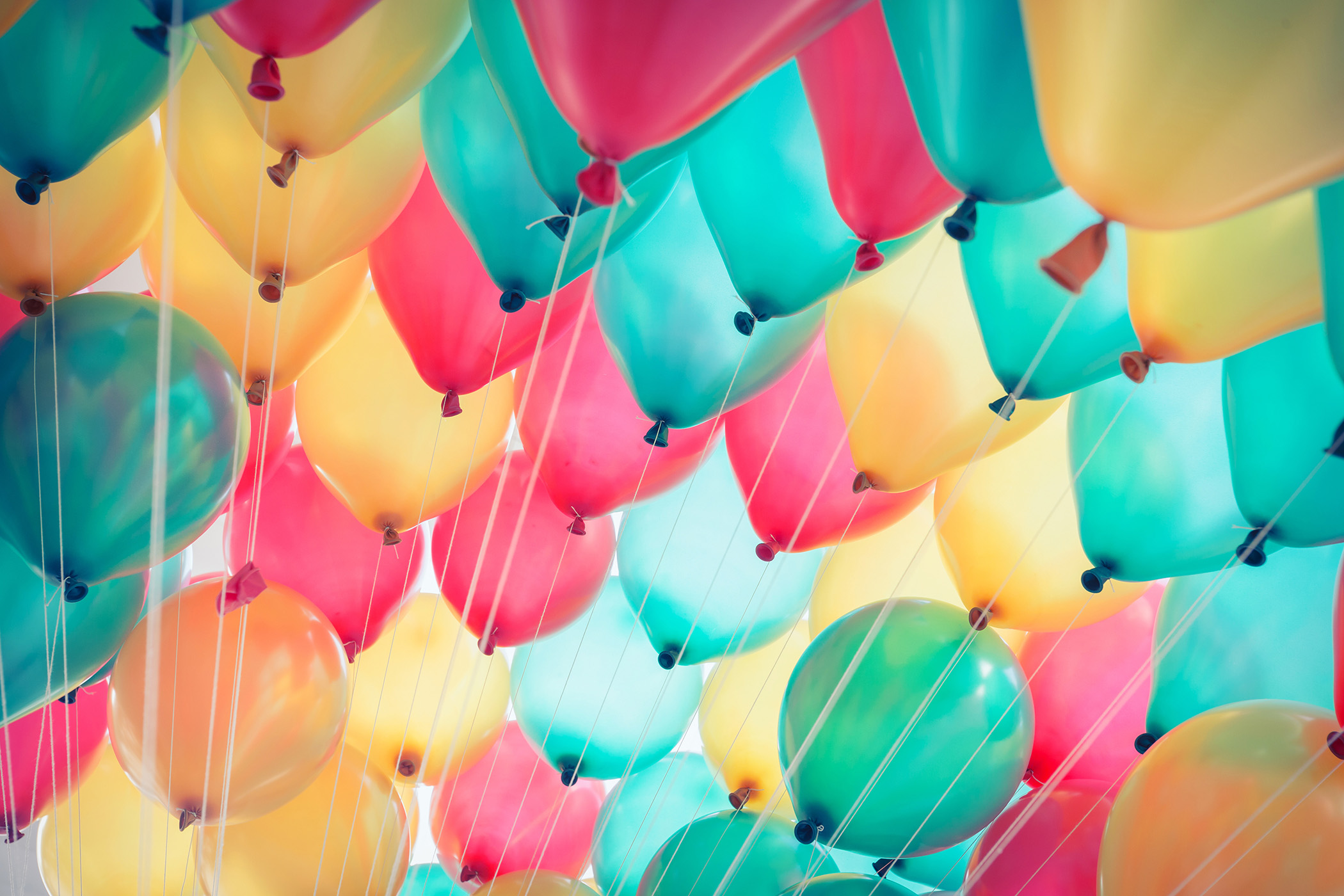 This is a photo of balloons.