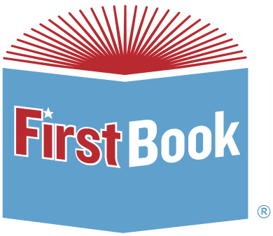 This is a logo for First Book.