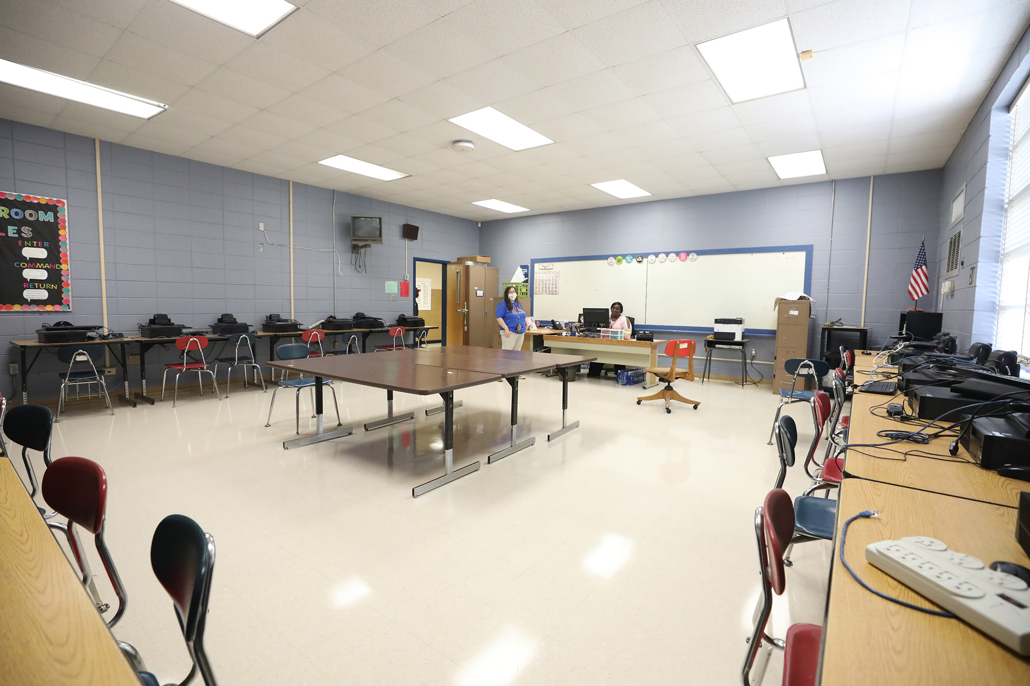 This is a photo of a QJH classroom.